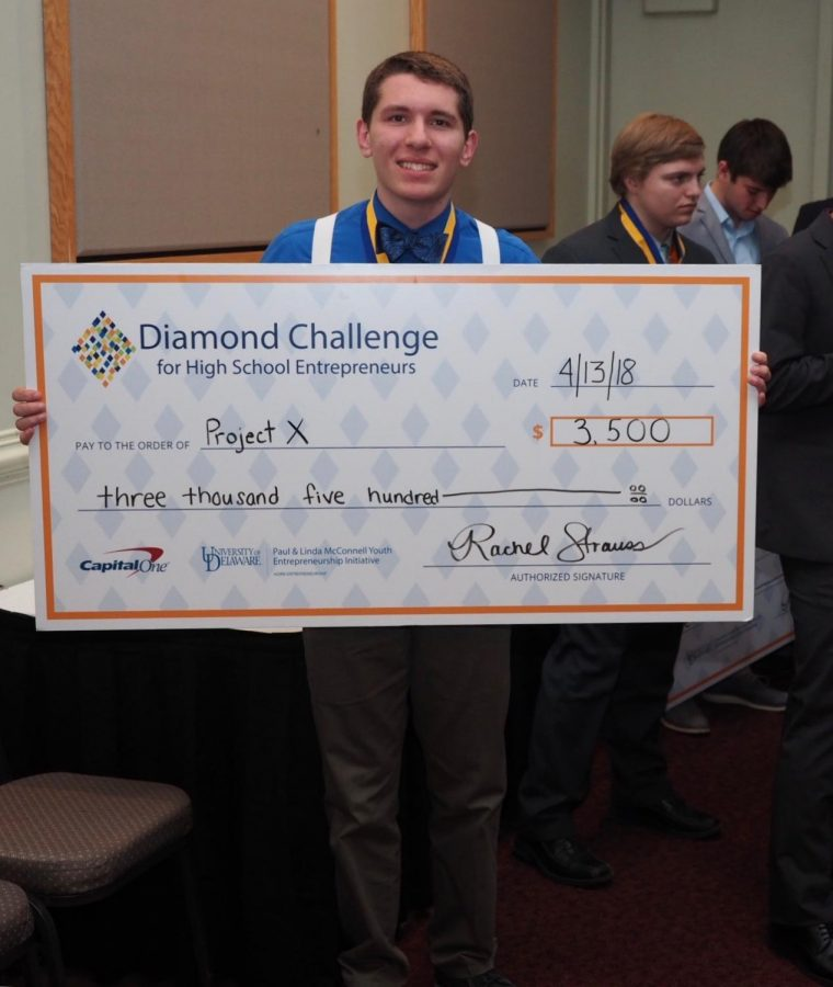 Wiciak Places Third in Diamond Challenge