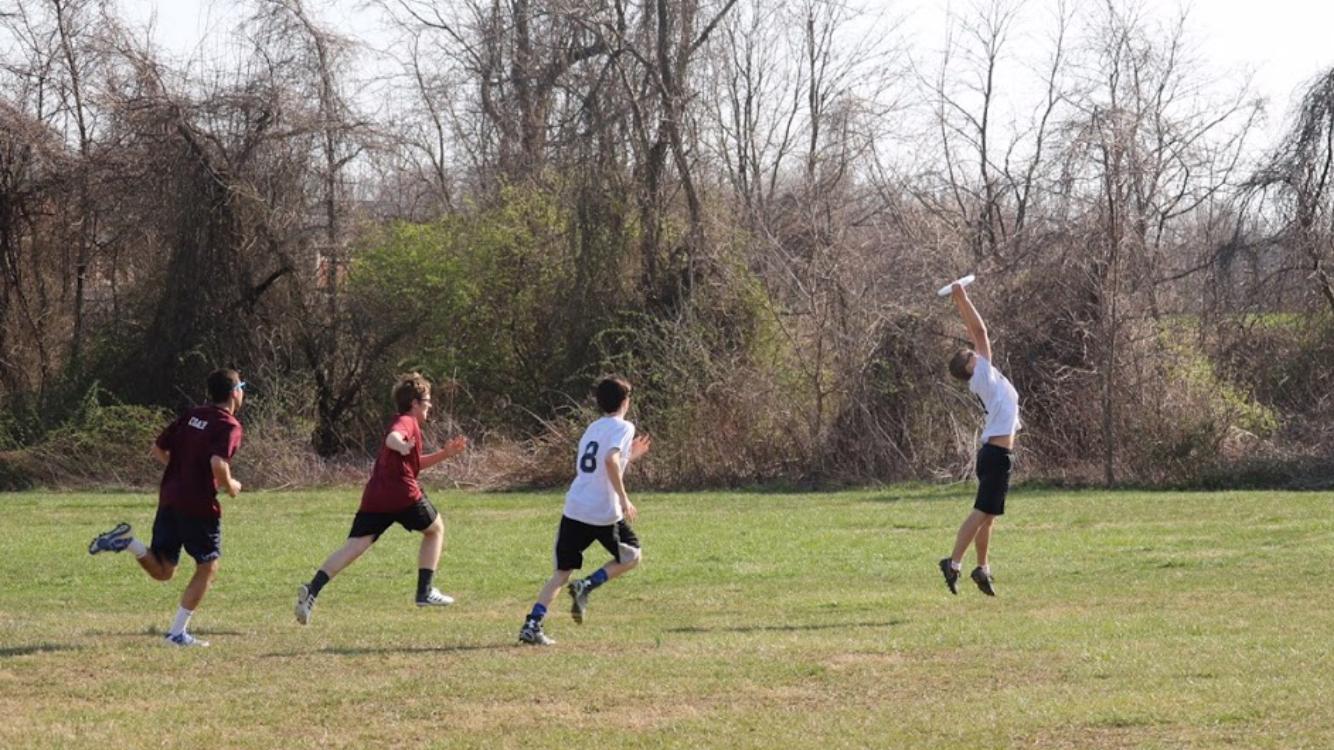 Freshman cutter Ryan Gallmann makes an incredible save.