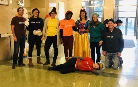 Snow White and the 7 Dwarves - Mr. Romano, Ms. Buchanan, Mrs. Ontiveros, Ms. Brown, Mrs Mansi, Mrs. Correale, Mr. Heiss, and Ms. Kallin