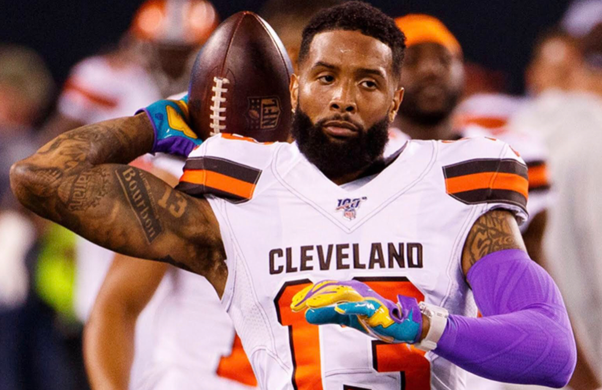 Odell Beckham Jr. wore yet another Richard Mille watch at a game, this one worth a mind blowing $2 million!