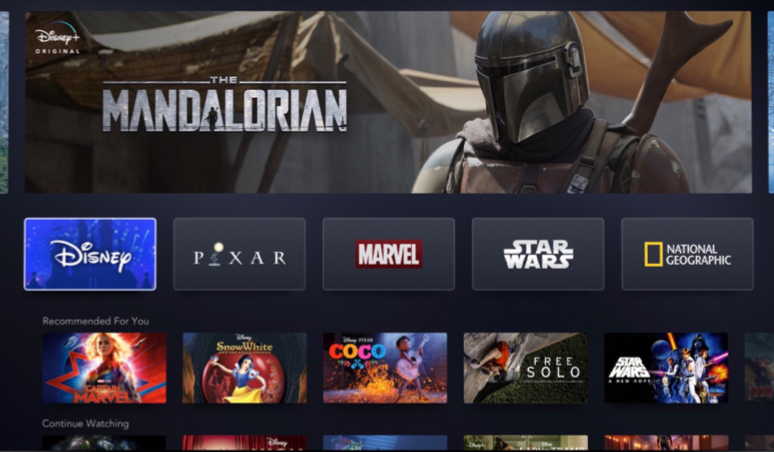 """In addition to its high-quality content selection, Disney+ itself will have many of the same features that fans of other streaming services have come to expect. Its UI looks clean and incredibly friendly, and users will be able to access unlimited offline downloads of everything the platform has to offer."""