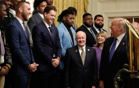 A Capital Visit With the President: Trump Welcomes Winning College Football Team as Honored Guest