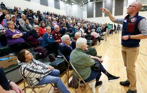 Politically Intense at the Iowa Caucus