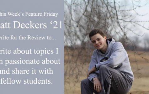 "Happy ""Feature Friday"": Matthew Deckers"