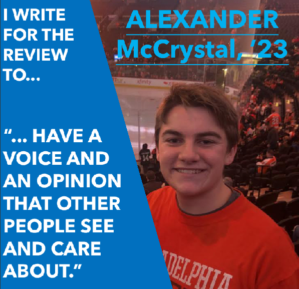 "Happy ""Feature Friday"": Alexander McCrystal"
