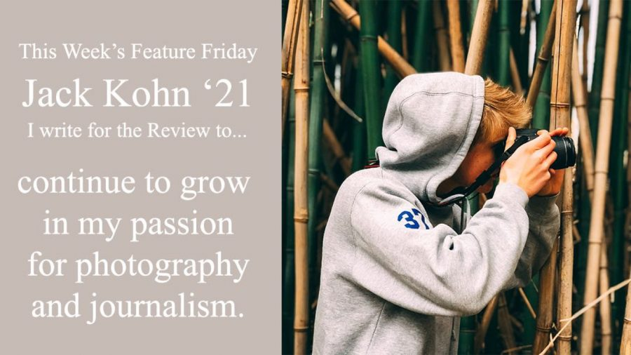 "Happy ""Feature Friday"": Jack Kohn"