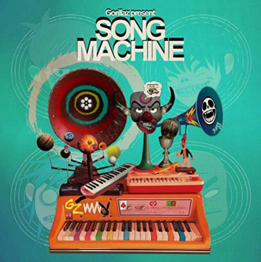 A Mostly Successful Mix of New and Old: The Gorillaz-Song Machine Review