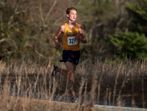 Junior Ryan Banko ended up running away with the DIAA Division 1 Individual state championship with a time of 16:09.