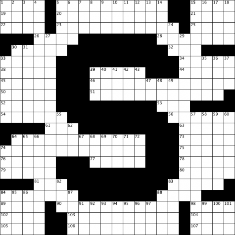 Salesianum Crossword Contest #2