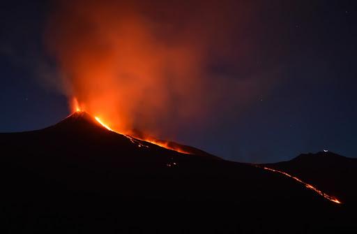 The Kilauea Volcano Erupts in Hawaii